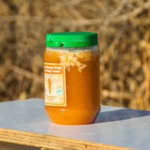 דבש קשיח חצי קילו